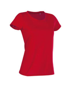 Active Cotton Touch T shirt S8700 Crimson Roed