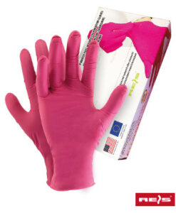Allogena Engangshandsker 100 stk. (XL 90 stk) PINK ALLOGENA