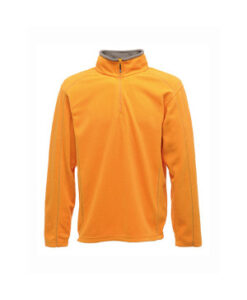 Dame Ashville Half Zip Fleecetroeje RG573 Sun Orange Smokey
