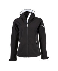Dame Haette Performance Softshell TJ9554 Sort