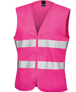 Dame High Viz Tabard RT334F Fluorescent Pink