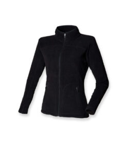 Dame Microfleece Jakke SF28 Sort