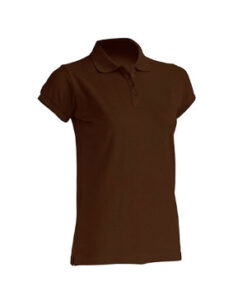 "Dame Polo ""Regular""  JHK511 Chocolate"