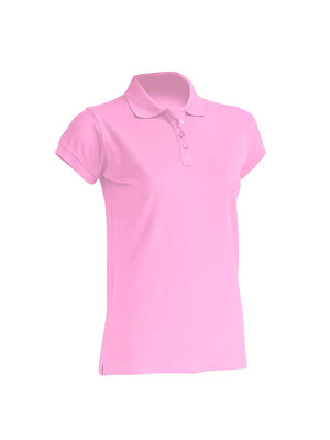 "Dame Polo ""Regular""  JHK511 Pink"