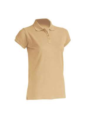 "Dame Polo ""Regular""  JHK511 Sand"