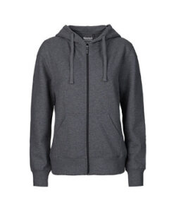 Dame Zip Hoodie NE83301 Dark Heather