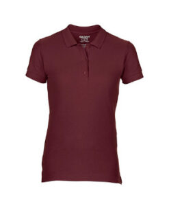 Premium Cotton® Ladies´ Double Piqué Polo G85800L Brun