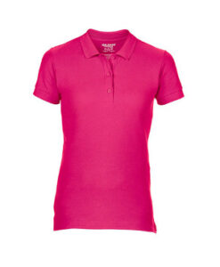 Premium Cotton® Ladies´ Double Piqué Polo G85800L Heliconia