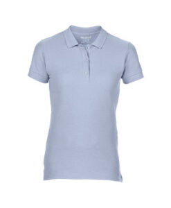 Premium Cotton® Ladies´ Double Piqué Polo G85800L Light Blaa