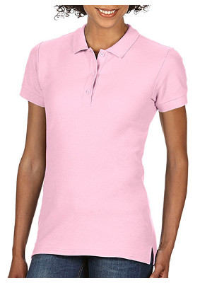 Premium Cotton® Ladies´ Double Piqué Polo G85800L Light Pink