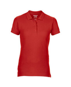 Premium Cotton® Ladies´ Double Piqué Polo G85800L Roed