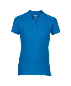 Premium Cotton® Ladies´ Double Piqué Polo G85800L Sapphire