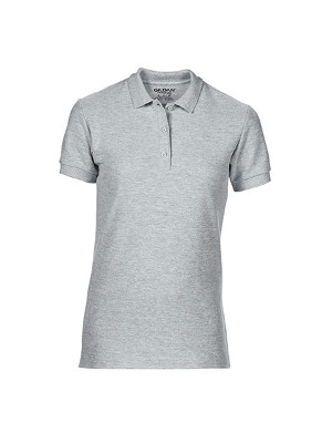 Premium Cotton® Ladies´ Double Piqué Polo G85800L Sport Graa (Heather)